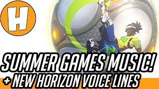 Overwatch - Summer Games Music Datamined, New Winston Voice Lines! | Hammeh