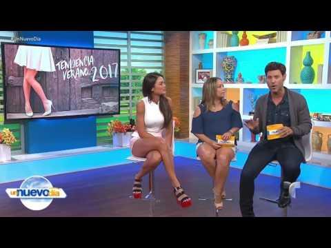 Zuleyka Rivera (Damn!) hot legs - Un Nuevo Dia - 07/06/17