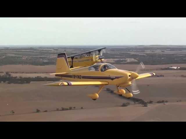 5 Ship Formation Flying - South Australian Aerobatics Championships Murray Bridge 2012
