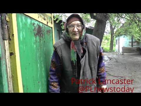 80 y.o. granny in Yasinovataya, whose home was  destroyed is left with nothing and noone to help
