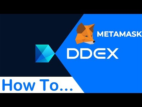How to use DDEX exchange?