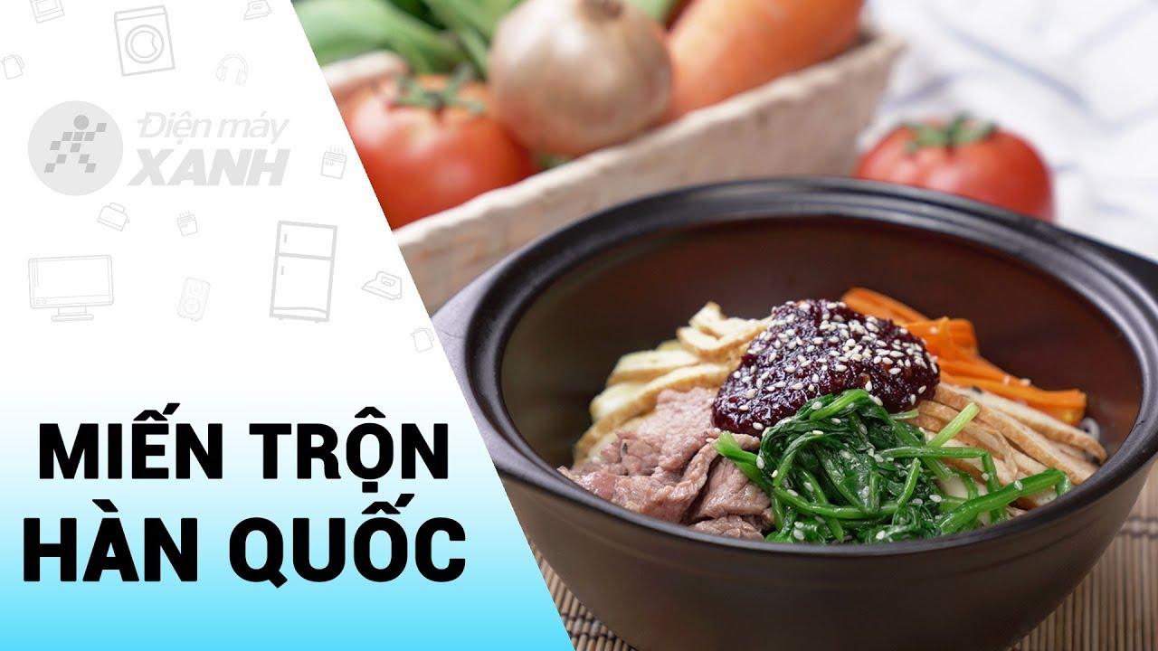 Cách làm Miến trộn Hàn Quốc đơn giản mà ngon | Vào bếp cùng Điện máy XANH