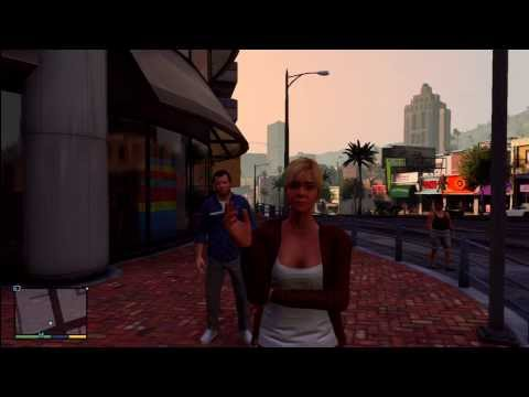 GTA 5 - Tracey Smoking!