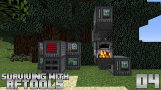 Surviving With RFTools :: E04 - Wireless Storage