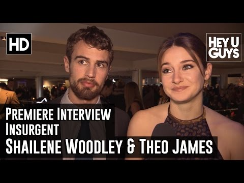 Insurgent Copenhagen Premiere Shailene Woodley & Theo James Interview from YouTube · Duration:  1 minutes 32 seconds