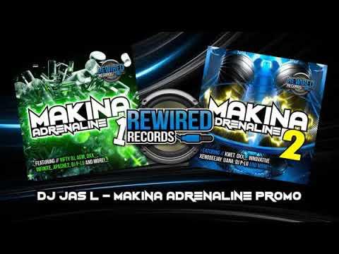 DJ Jas L  -  Makina Adrenaline 1 & 2 (Rewired Records Promo Mix)