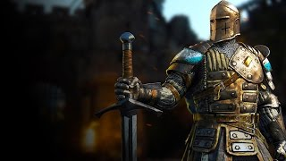For Honor - Knight Warden: Full Match Gameplay (Closed Beta)