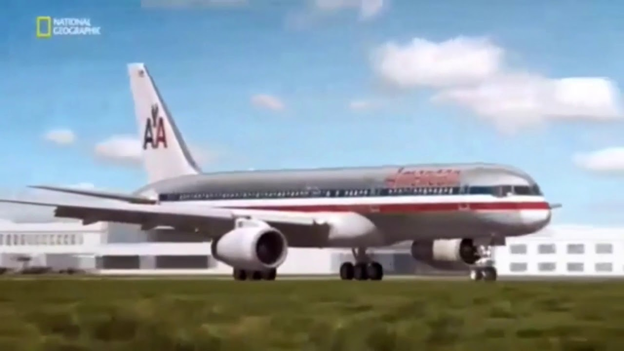 American 77 crash animation/ mayday catástrofes aéreas/ air crash investigation