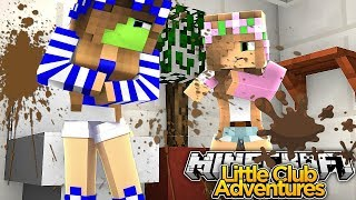 LITTLE KELLY GETS COVERED IN POOP!!! - Minecraft Little Club Adventures