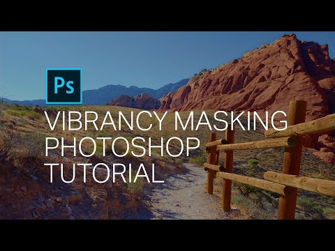 Vibrancy Masking Photoshop Tutorial - How to Make Your Photos Vibrant