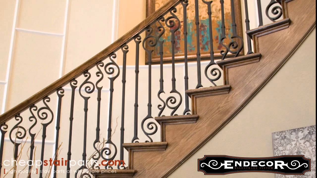 Endecor Iron Balusters   Cheap Stair Parts   YouTube
