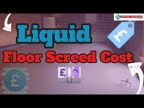 Liquid Floor Screed Cost How Much Does The Screed Cost No Wait