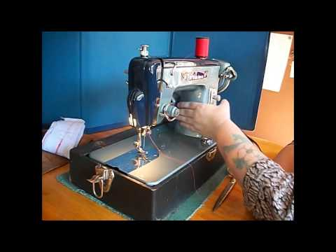 Ford Deluxe Sewing Machine Demo Video