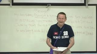 Learn English  เรียนภาษาอังกฤษ : suraphet 5324: Teacher James, USA. James 21 September 2018
