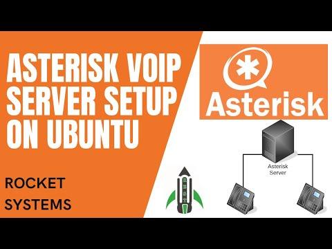 Asterisk VOIP Server Setup On Ubuntu 20 | Making Calls via SIP Soft Phone | Rocket System