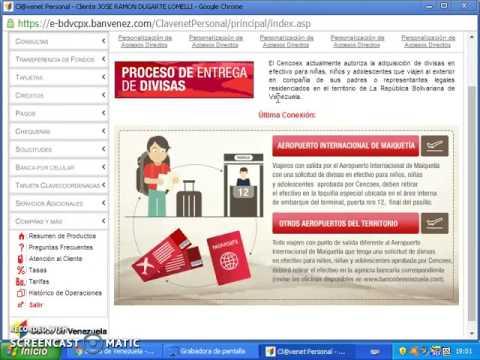 Banco de venezuela como solicitar avance de efectivo for Banco de venezuela clavenet personal