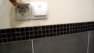 Как самому установить розетку для стиралки(В этом видео показано как собственными руками провести и установить в ванную комнату, электро-розетку для..., 2016-05-17T16:06:39.000Z)