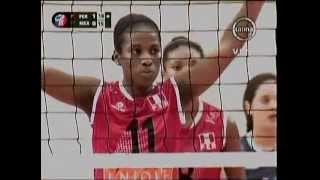 VOLEY PERU VS MEXICO [3-0] - Tailandia 2013 (2do. Set) 25-07-2013