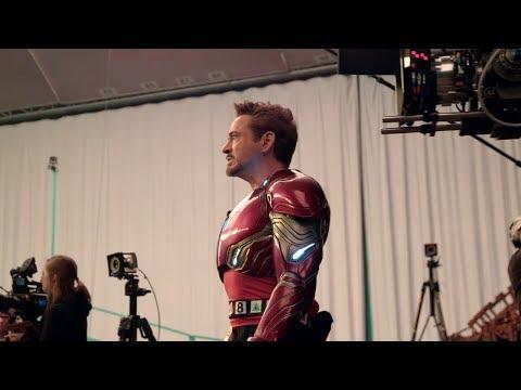 Avengers Infinity War BLU-RAY BONUS Titan Battle Behind The Scenes Clip thumbnail