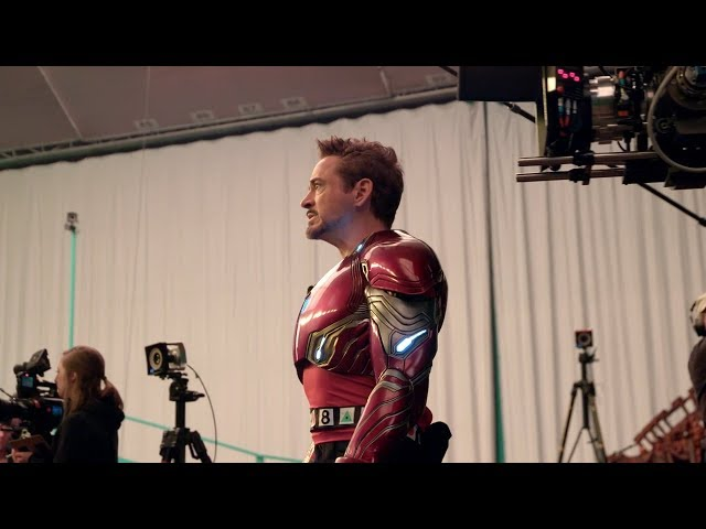 Avengers Infinity War BLU-RAY BONUS Titan Battle Behind The Scenes Clip