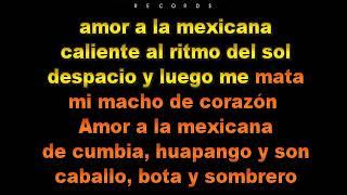 Karaoke Profesional - Amor a la Mexicana