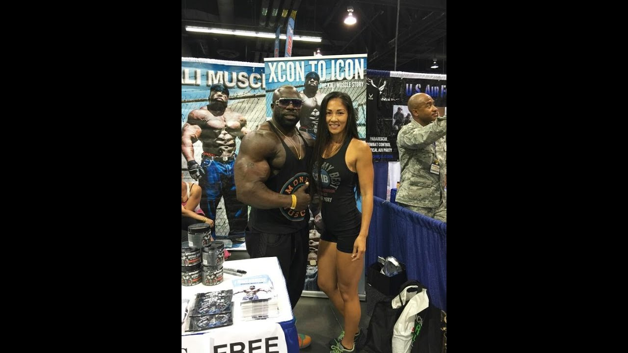 Kali Muscle Gets A Taste Of Slap City From Susan Perry Youtube