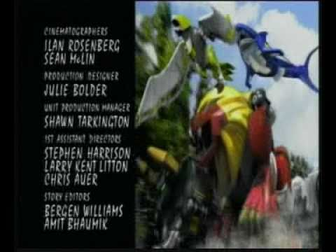 10 - Power Rangers Wild Force (End Credits).avi