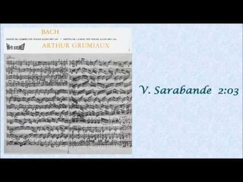 BACH: Partita for Solo Violin No. 1 in B minor BWV 1002