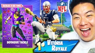 I BOUGHT THE SKIN OF AMERICAN FOOTBALL * NFL * AND I KILLED GENERAL!! -Fortnite Battle Royale