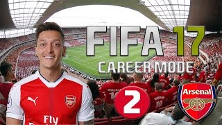 Fifa 17 career mode arsenal part 2 - sim match & buy new players