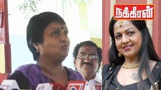anuradha talks about jyothi lakshmi last respect video