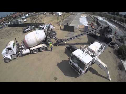 1/2 Concrete Pouring - PAL General Engineering, Pre-Construction Video, San Diego, California