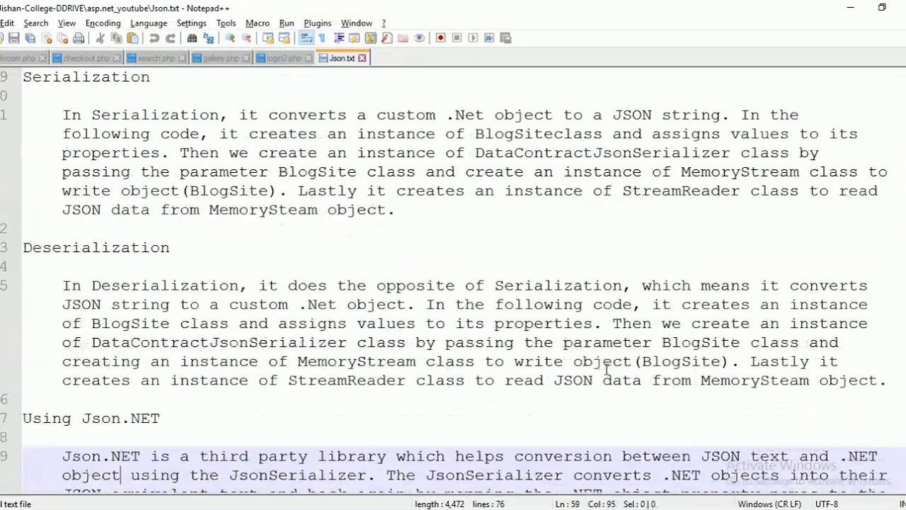 json serialize list keyvaluepair string object