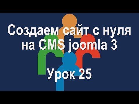 Урок 25. Создаем страницу контакты в Joomla 3