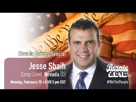 #WeThePeople Meet Jesse Sbaih - Nevada Congr Cand. (D)