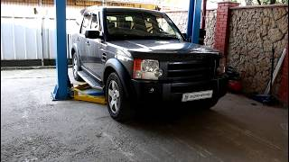 Замена передней верхней шаровой опоры  Land Rover Discovery 3 Ленд Ровер Дискавери 3 2006 года