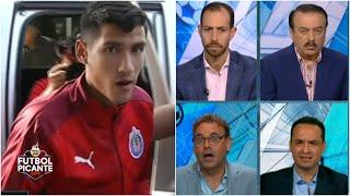 Uriel Antuna ya viste los colores de Chivas en Guadalajara ¿Se quedará Alan Pulido? | Futbol Picante