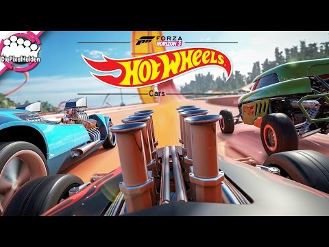 FORZA HORIZON 3 - Hot Wheels Expansion Cars - Part I - Review [german / deutsch]