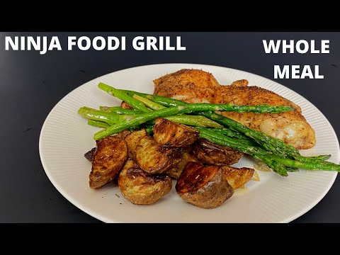 ninja-foodi-grill-make-a-complete-meal-using-your-ninja-foodi-grill!