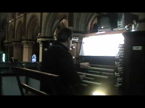 """Canterbury Cathedral 2012: Marco Lo Muscio Plays: """"Visions From Minas Tirith - The White Tree"""""""