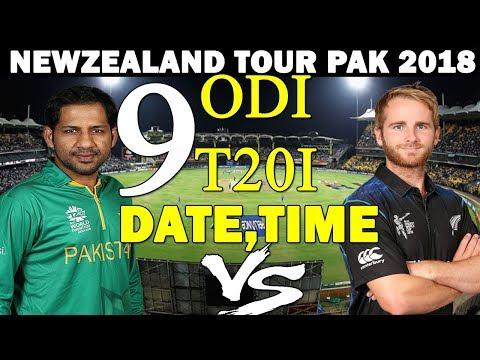 PAKISTAN VS NEWZEALAND COMPLETE SCHEDULE   NZ TOUR TO PAK 2018   PAK CRICKET TEAM NEXT SERIES
