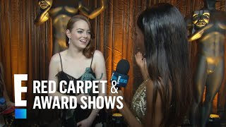 "Emma Stone Says It Feels ""Pretty Crazy"" To Win 