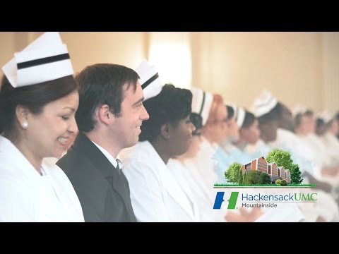 2015 Hackensack UMC Mountainside School of Nursing Commencement (Highlights)