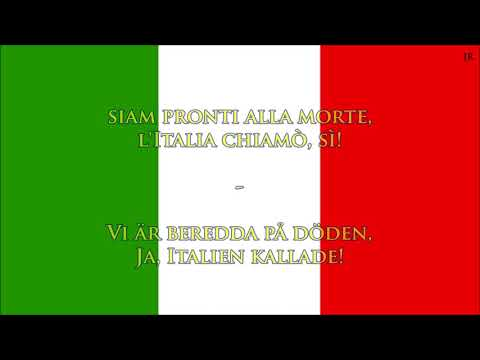 Italiens Nationalsång (IT/SWE Text) - Anthem Of Italy (Swedish)
