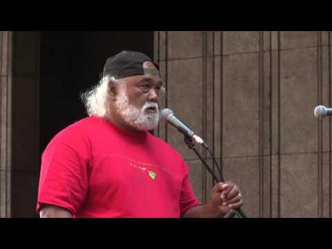 Alika Atay - People's Hale - Opening Day 2016 Hawaii State Legislature