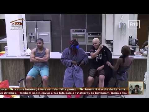 Big Brother Angola -Tânia Despede-se Dos Brothers
