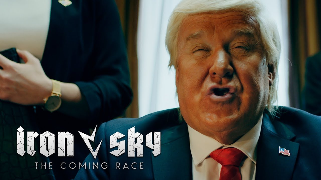 Leaked video: Donald Trump finds out about Iron Sky