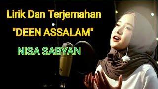 NISA SABYAN   DEEN ASSALAM   lirik Dan terjemahan terbaru