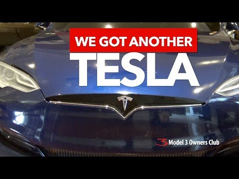 We got another Tesla!