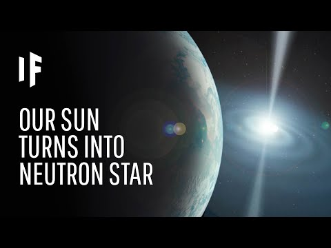 What If Our Sun Became A Neutron Star?